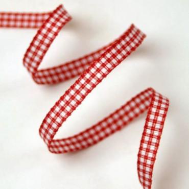 5mm Gingham Ribbon