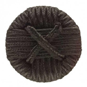 BRAIDED 'X'  BUTTON