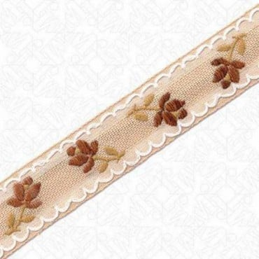23mm Imported Floral Jacquard
