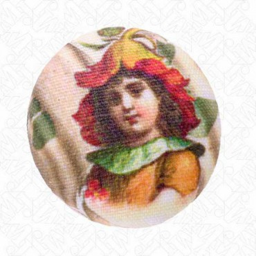 Garden Girls Button