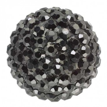 Rhinestone Cluster Dome Button
