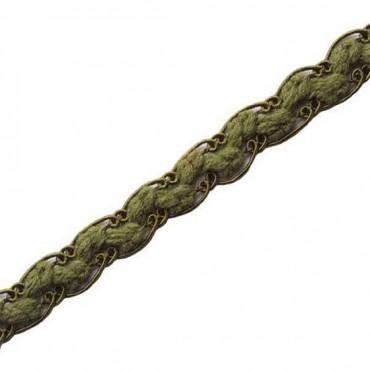 "1/2"" Wool/ Rayon Guimp Knit"