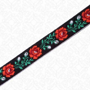 18MM ROSE BUD VINE JACQUARD