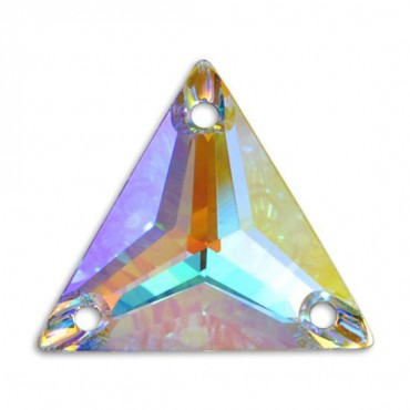 Swarovski Triangle Sew On Jewels