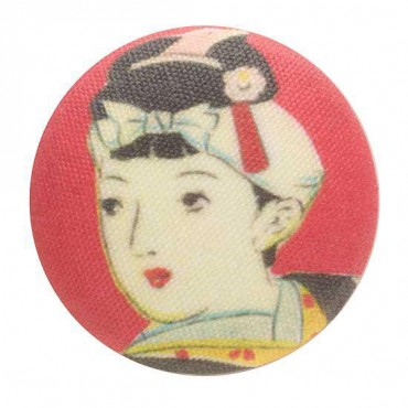 Geisha Girls Button