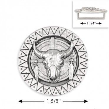 "1 5/8"" Round Bull Buckle"
