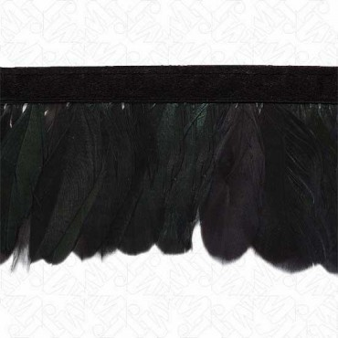 "2 7/8"" (73mm) Coque Feather Fringe"
