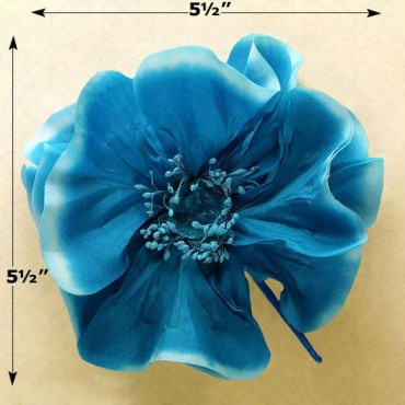 POPPY FLOWER PINS