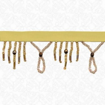 "1 1/2"" (38mm) Seed / Bugle Beaded Fringe"