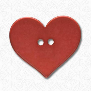 Two-Hole Heart Button