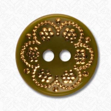 Glass Studded Fashion Button