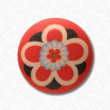 Kimono Flower Button