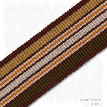25mm Stripe Grosgrain Ribbon