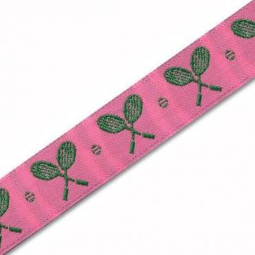 22mm  Tennis Racquet Jacquard