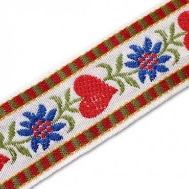 50MM TYROLEAN JACQUARD