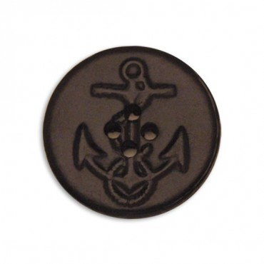 Leather Anchor Button