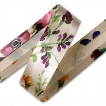 25mm Satin Bias Binding