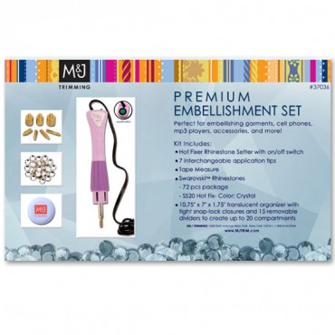 M&J Premium Embellishment Set