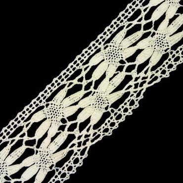 """2 1/2"""" (64mm) Cluny Lace"""