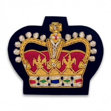 "2 1/4"" x 2 5/8"" Crown Bullion Crest"