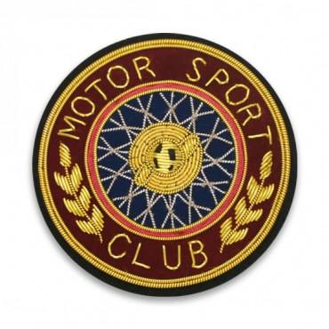 "2 1/2"" Motor Sport Club Crest"