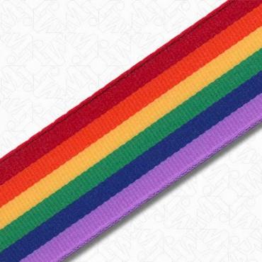 """7/8"""" (23mm) Prism Stripe Ribbon"""