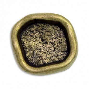 Hammered Antique Metal Button