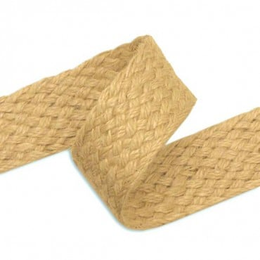 "1 3/8"" (35mm) Jute Braid"