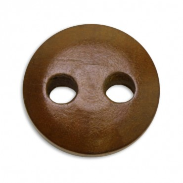 Wood Dome Button 2-Holes
