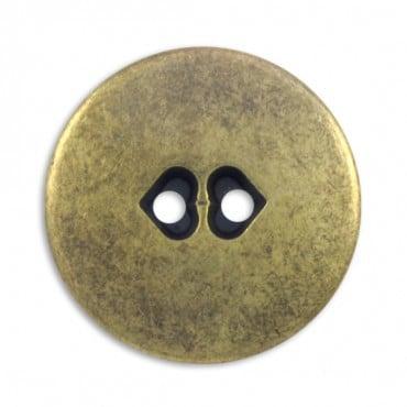 Fashion Metal Button 2-Holes
