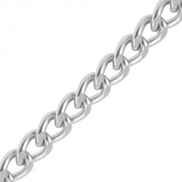 "3/4"" (19mm) Cut Diamond Aluminum Chain"
