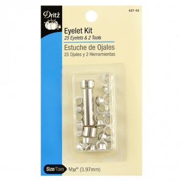 Small Silver Eyelet Kit