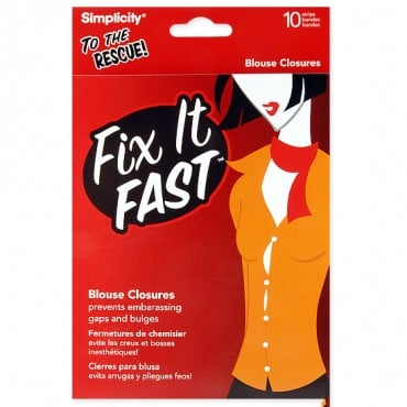 FIX IT FAST BLOUSE CLOSURES