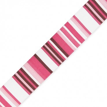 "1.5"" RETRO STRIPE PRINTED RBN"