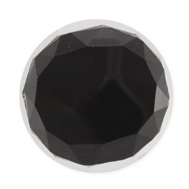 FACETED JEWEL DESIGN FASHION BUTTON WITH SHANK