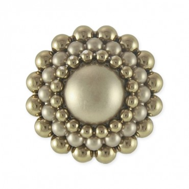 Cluster Pearl Button