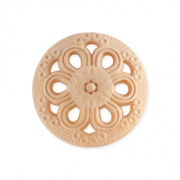 Nylon Filigree Shank Button