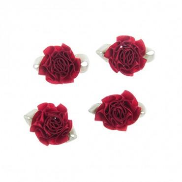"""3/4"""" Carnation Rosette"""
