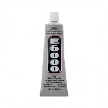 E-6000 CLEAR GLUE 1OZ.-All-CLEAR