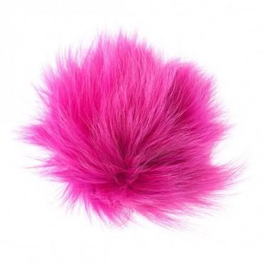 "4"" Fox Fur Pompom"