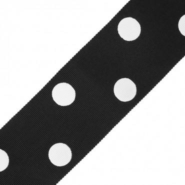 53mm Polka Dots Chromspun