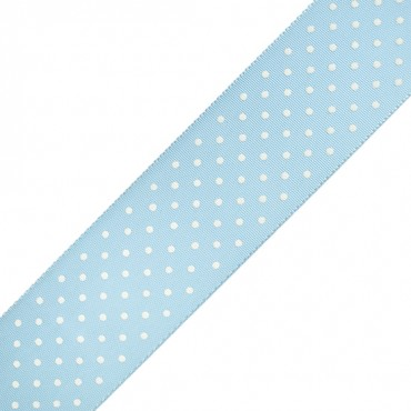 55MM SWISS DOTS GROSGRAIN