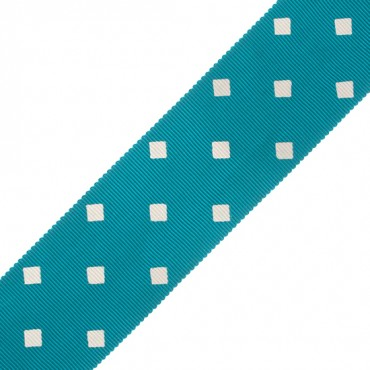 36MM DIAMOND PATTERN GROSGRAIN