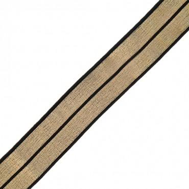 18mm Metallic Foldover Elastic