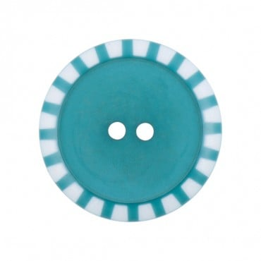 2-Hole Stripe Edge Button