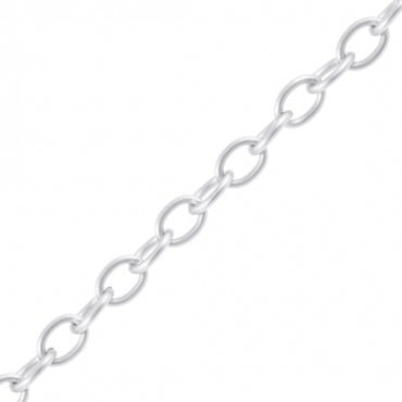 9mm metal rolo chain