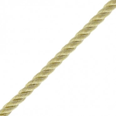 5mm Fine Metallic Cord-5mm-Gold