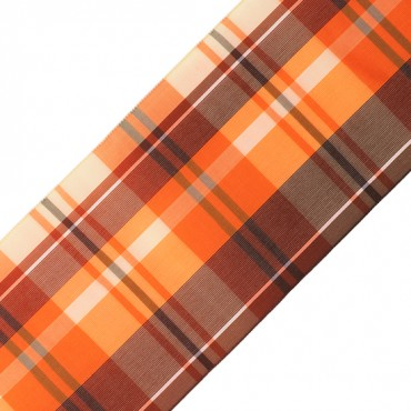 "3 1/2"" (89mm) Gingham Taffeta Ribbon"