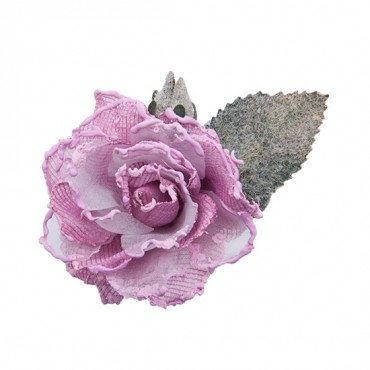 DIPPED ROSE WITH PIN