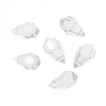 10MM X 6MM SWAROVSKI CRYSTAL DROPS